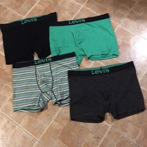 (4) Levi's boxer briefs underwear size men's XL